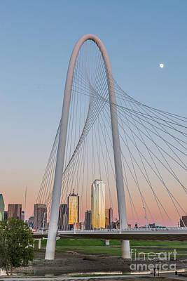 Dallas Margaret Hunt Hill Bridge Art Print by Tod and Cynthia Grubbs