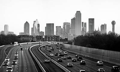 Photograph - Dallas Morning 122217 by Rospotte Photography