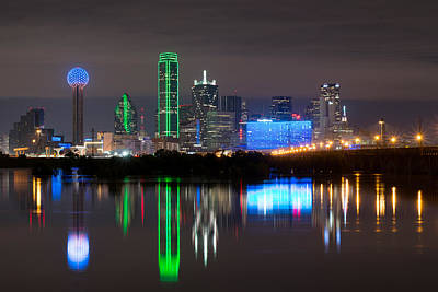Photograph - Dallas Night Out by Rospotte Photography