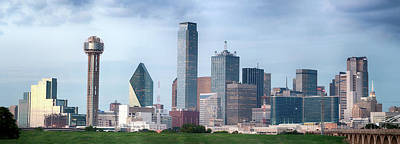 Photograph - Dallas Panorama 022817 by Rospotte Photography