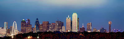 Photograph - Dallas Panorama 072217 by Rospotte Photography