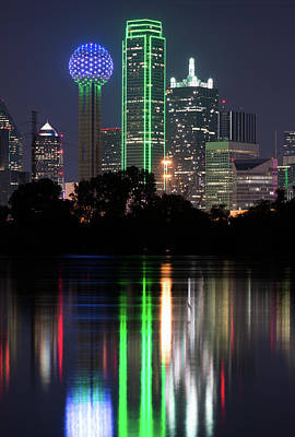 Photograph - Dallas Reflection 032618 by Rospotte Photography