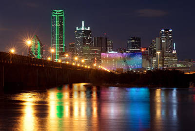 Photograph - Dallas Reflections by Rospotte Photography