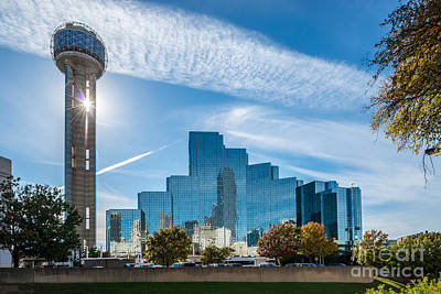 Dallas Photograph - Dallas Reunion Tower  by Tod and Cynthia Grubbs