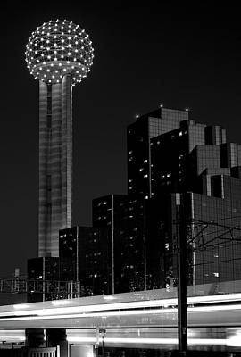 Photograph - Dallas Reunion Train 061116 V4 by Rospotte Photography