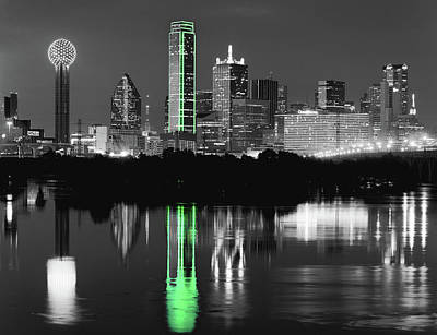 Photograph - Dallas Skyline 020518 by Rospotte Photography