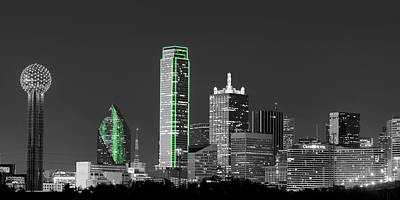 Photograph - Dallas Skyline 021617 by Rospotte Photography