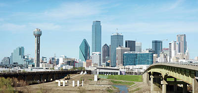 Photograph - Dallas Skyline 032318 by Rospotte Photography