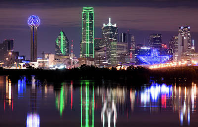 Photograph - Dallas Skyline 032918 by Rospotte Photography
