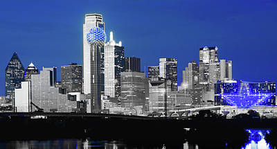 Photograph - Dallas Skyline 051218 by Rospotte Photography
