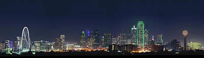Photograph - Dallas Skyline 051518 by Rospotte Photography
