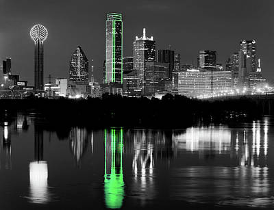 Photograph - Dallas Skyline 071417 by Rospotte Photography