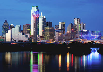 Photograph - Dallas Skyline 072117 by Rospotte Photography