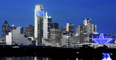 Photograph - Dallas Skyline 072417 by Rospotte Photography