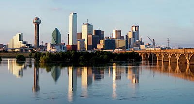 Photograph - Dallas Skyline 092117 by Rospotte Photography