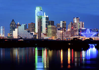 Photograph - Dallas Skyline 09a2217 by Rospotte Photography