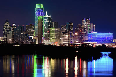 Photograph - Dallas Skyline 111016 by Rospotte Photography