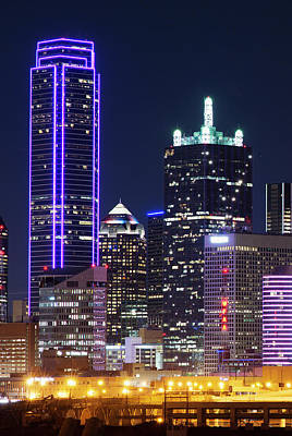 Photograph - Dallas Skyline 111417 by Rospotte Photography
