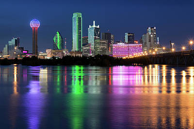 Photograph - Dallas Skyline 62617 by Rospotte Photography