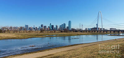 Photograph - Dallas Skyline by Jennifer White