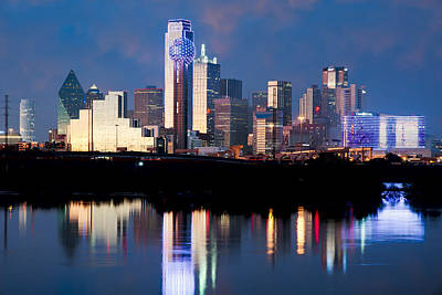 Dallas Skyline May 2015 Art Print