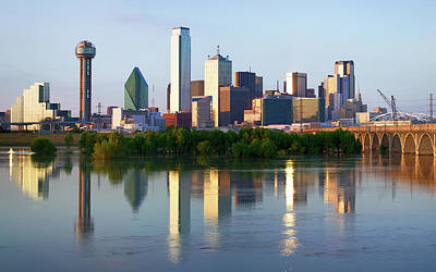 Photograph - Dallas Skyline91417 by Rospotte Photography