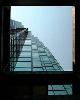 Photograph - Dallas Skyscraper Patterns  by David and Carol Kelly