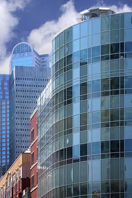 Photograph - Dallas Skyscrapers  by David and Carol Kelly