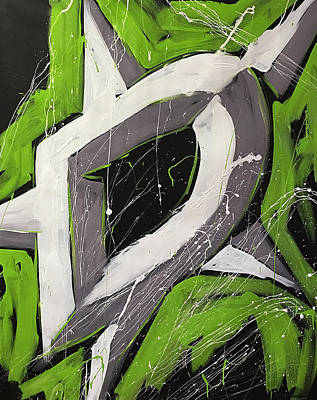 Nhl Painting - Dallas Stars by Elliott From