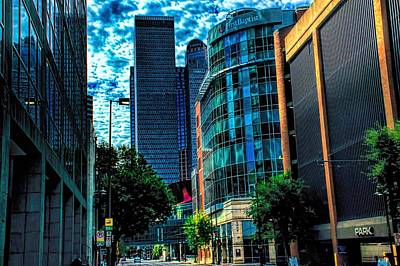 Photograph - Dallas Street View by Diana Mary Sharpton