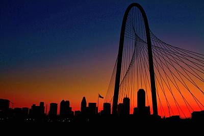 Photograph - Dallas Sunrise by John Babis