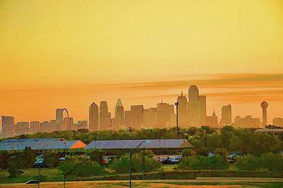 Photograph - Dallas Texas Skyline by Diana Mary Sharpton