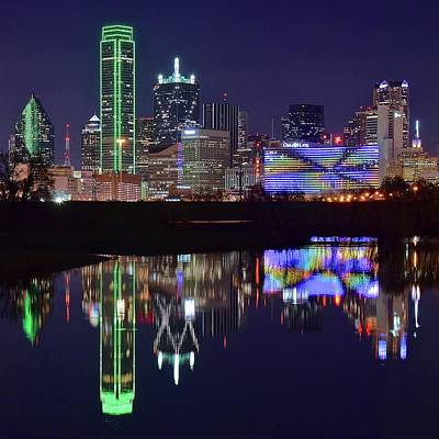 Photograph - Dallas Texas Squared by Frozen in Time Fine Art Photography