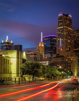 Reflective Photograph - Dallas Trails by Inge Johnsson