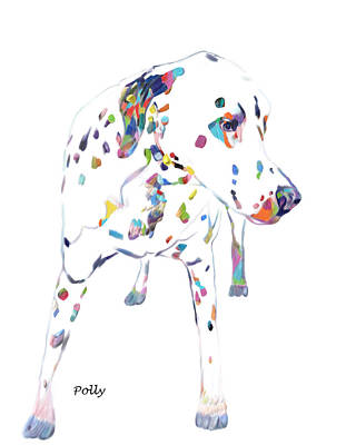 Painting - Dalmatian by Portraits By NC
