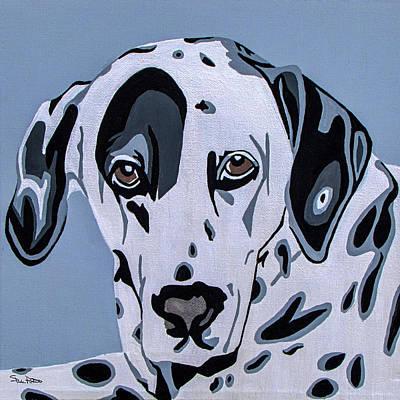Canines Digital Art - Dalmatian by Slade Roberts