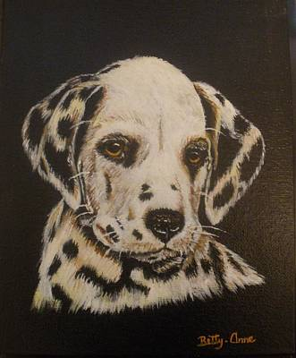 Painting - Dalmation by Betty-Anne McDonald