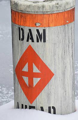 Dam Ahead Art Print by Steven Covieo