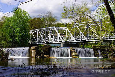Photograph - Dam At Finley River by Jennifer White