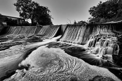 Photograph - Dam Flow by CJ Schmit