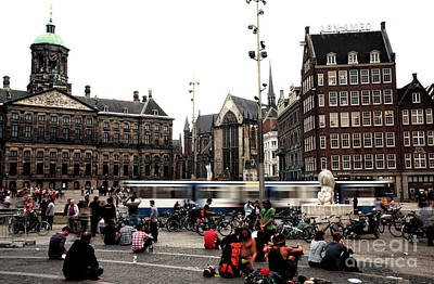 Photograph - Dam Square Days by John Rizzuto