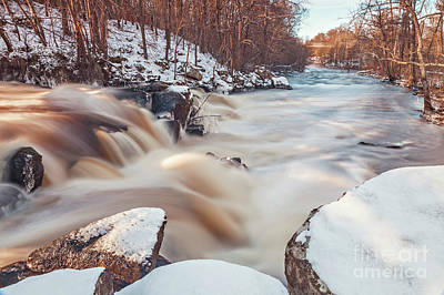 Photograph - Dam Waterfall In Sweden by Sophie McAulay
