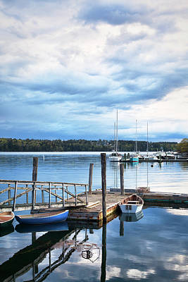 Photograph - Damariscotta River Maine by Eric Gendron