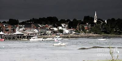 Photograph - Damariscotta Storm by Marcia Lee Jones