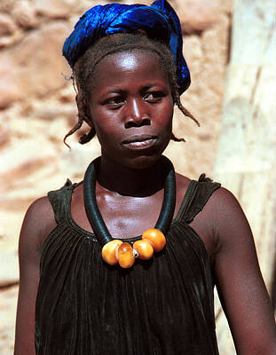 Dogon Country Photograph - Damasongo 1987 by Huib Blom