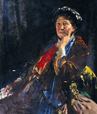 Sir William Orpen Painting - Dame Madge Kendal by MotionAge Designs