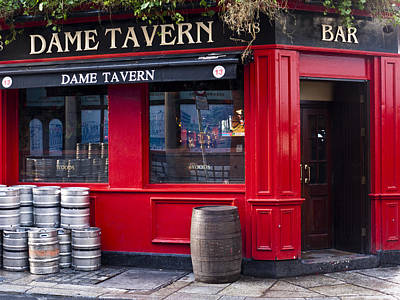 Dame Tavern Art Print by Rae Tucker