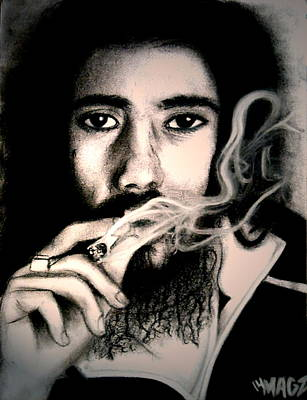 Damian Marley Art Print by Magz Ojeda