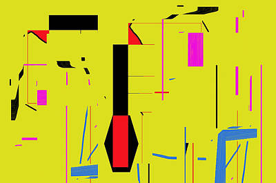 Art Print featuring the digital art Damn That Girl Can Dance by Cletis Stump