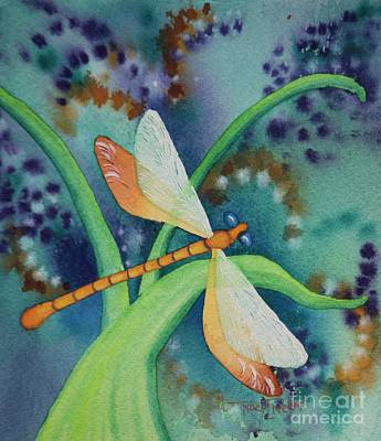Painting - Damsel In Gold by Tracy L Teeter